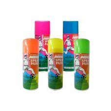 ABRO Краска флуоресцентная спрей красная / зеленая / голубая