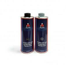 Alfa Антигравийное покрытие Underbody Stone Protection , 1 л (серый, черный)