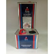 Alfa 2К Прозрачный лак Autoclear HS 2:1 комплект 3,0+1,5л