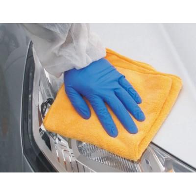 APP МИКРОФИБРА полировальная непылящая оранжевая из микроволокна DMF Cloth двусторонняя