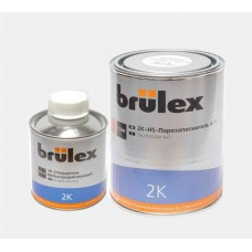 BRULEX Грунт-порозаполнитель HS 4+1 2К 1л + отвердитель быстродействующий 0,25л