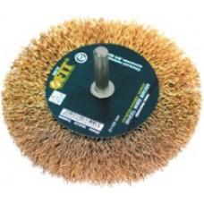 FIT Корщетка - колесо (для дрели) d=100мм
