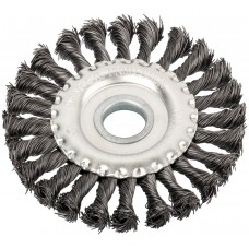 WILLMARK  Корщетка - колесо 39103 витая, 125мм