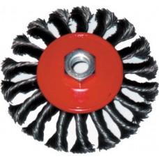 FIT Корщетка - колесо витая, с наклоном (для УШМ) d=125мм