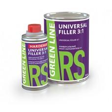 GREEN LINE Universal Filler 3:1 Грунт-наполнитель универсальный серый с отвердителем