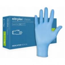 Перчатки NITRYLEX, нитриловые, синие