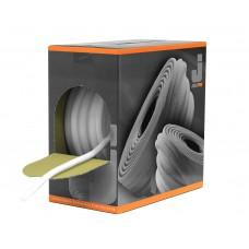 JetaPro Эластичный самоклеящийся круглый поролоновый валик для защиты проемов при окраске. 13х50м