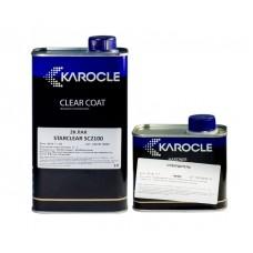 KAROCLE 2К Универсальный полиуретановый лак STARCLEAR SC-2100 в к-те с отвердителем 1л+0,5л
