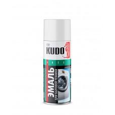 KUDO Эмаль для бытовой техники белая 520мл