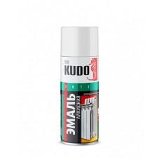 KUDO Эмаль для радиаторов отопления, белая 520мл (6шт)