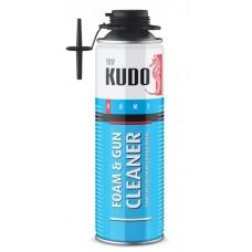 KUDO Очиститель монтажной пены FOAM&GUN CLEANER 400г/650 мл