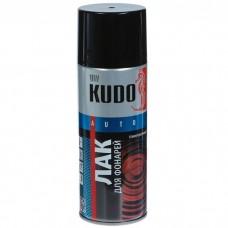 KUDO Лак для тонировки фар черный 520мл