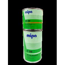MIPA Лак HS86 2-хкомпонентный в комплекте c oтвердителем с сильной защитой от УФ лучей