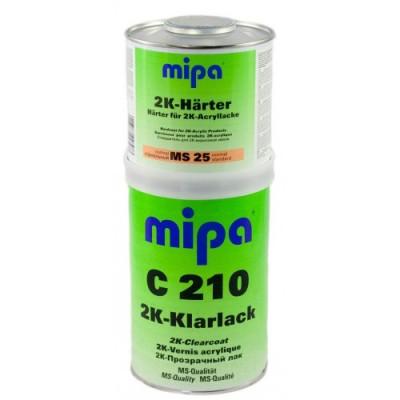 Mipa Лак MS С210 1л + отвердитель MS25 0,5л