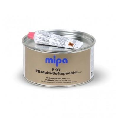 MIPA P97 Multi-Softspachtel - 2кг. Шпатлевка универсальная мягкая. (Бежевая)