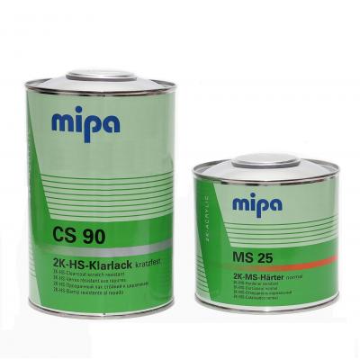 MIPA Лак HS СS90 с эффектом самополировки +отвердитель MS25  (1л+0,5л)