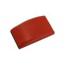 MIRKA Шлифовальный блок резиновый, красный