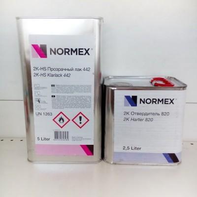 NORMEX 442 Лак HS 5л + отвердитель 820 2,5л