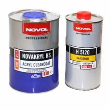 Novol Лак HS 2+1 NOVAKRYL HS 1л + отвердитель H5120 0,5л