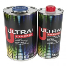 Novol Лак Ultra Klarlack 300 1л + отвердитель 0,5л