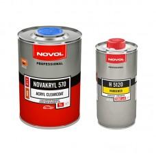 Novol Лак MS 2+1 NOVAKRYL 570 1л + отвердитель H5120 0,5л