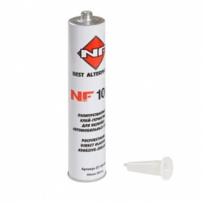 NF 1007  Набор для вклейки стекол  клей 310мл+грунт 10мл+ аппликатор