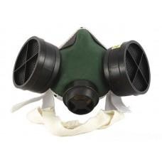 Угольная маска РПГ-67 (с 2-я пластиковыми фильтрами А1)