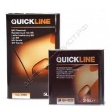 Quickline Акрил-уретановый лак MS 5л + отвердитель QH-4220 2,5л
