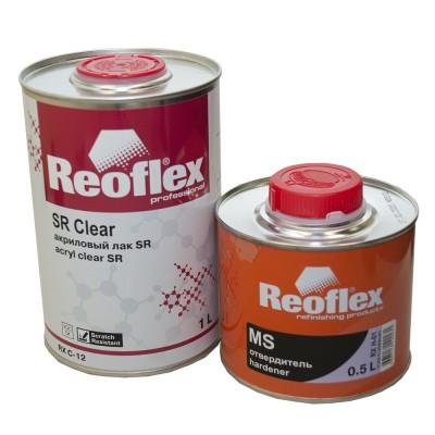 Reoflex  Лак 2К SR  акриловый прозрачный с отв MS (1,0л+0,5л)