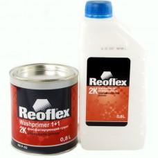 Reoflex Грунт фосфатирующий 2К 0,8л + отвердитель 0,8л