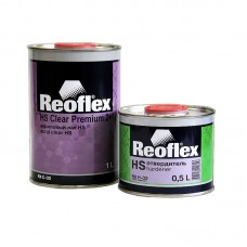 Reoflex Лак Clear HS акриловый 2+1 1л + отвердитель 0,5л