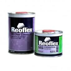 Reoflex Лак Clear MS акриловый 2+1 1л + отвердитель 0,5л