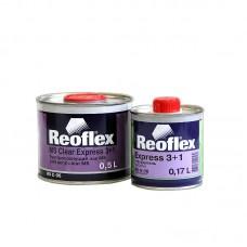 Reoflex Лак Экспресс 3+1 0,5 л + отвердитель 0,17 л