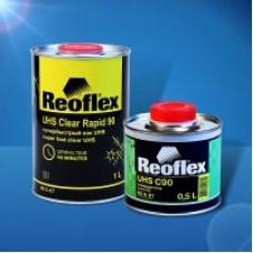 Reoflex  Лак супербыстрый Clear Rapid 90  UHS акриловый 2+1с отверд. UHS C90 1л+0,5л