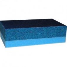 SIA Блок двухсторонний шлифовальный синий