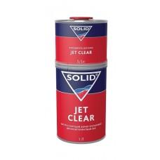 SOLID JET CLEAR 1000мл+500 мл - двухкомпонентный экспресс лак 2+1