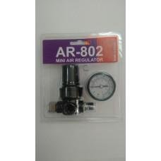 TOR AR-802 мини регулятор давления с манометром