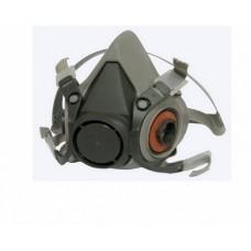 TOR Полумаска малярная 6200 под сменные фильтры, материал - эластомер, цвет - серый