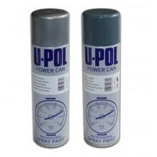 U-Pol Эмаль Power Can для колесных дисков (серебряная Alloy Silver) 500мл