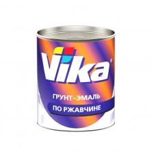 Vika Грунт-Эмаль по ржавчине RAL8017 шоколадно-коричневый  0,9 кг.