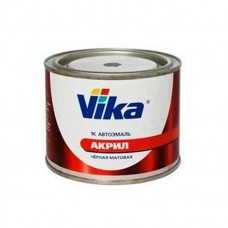 Vika Эмаль акриловая 1К черная матовая 0,4кг